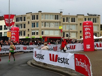 City 2 Surf Inflatable Mile Markers